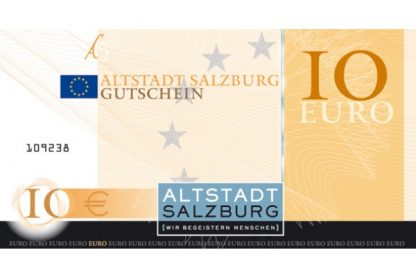 10 Euro Altstadt Gutschein